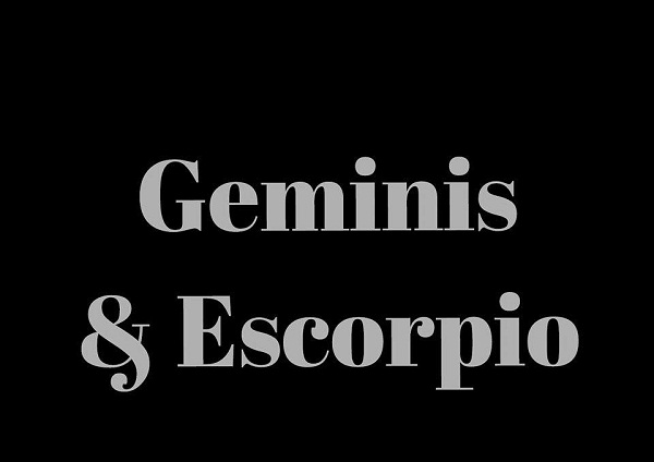 Son compatibles Géminis y Escorpio